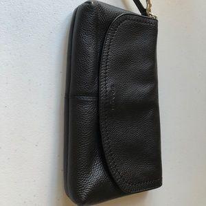 Black Coach clutch bag